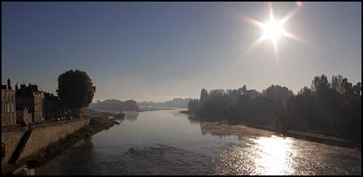 Soleil sur la Loire