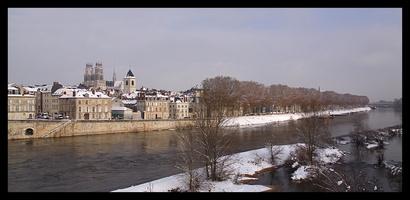 Orléans sous la neige  (12/2010)