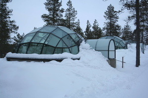 igloo de verre