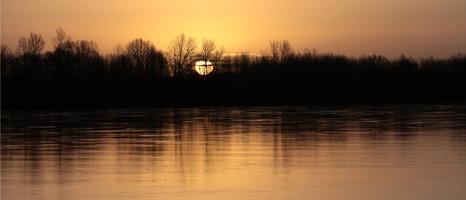 La Loire au lever du soleil