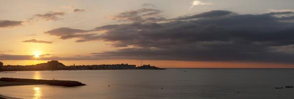 Soleil levant sur Palamos