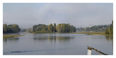 La Loire à Combleux