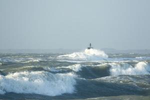 Tempête  Carmen à Piriac sur mer