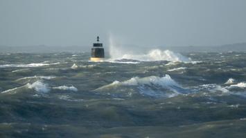 Tempête  Carmen à Piriac sur mer MG 0092