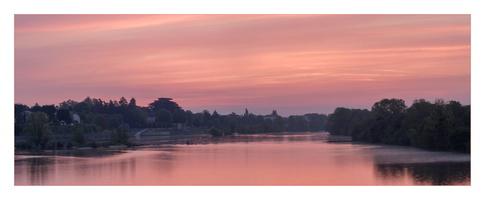 Aurore sur la Loire